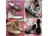 Ladies Size 7 shoe bundle