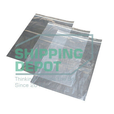 1-1000 9x12 Reclosable Clear Ziplock Plastic Zipper Bags 2 Mil