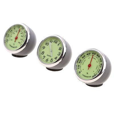 Auto Quarz Hygrometer Zeituhr Temperatur Thermometer Feuchtigkeitsmesser