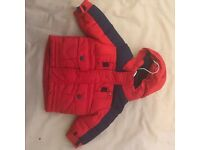 Authentic Tommy hillfiger baby coat 3-6 months new