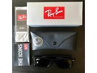 Ray ban wayfarer gloss black 5022 g-15 - free postage