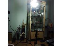 Tripod stander + lights