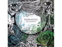 TALKDEMONIC - EYES AT HALF MASK 14 TRACKS RARE CD
