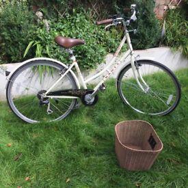 Dawes 'Duchess' Ladies Bike in Cream (vintage/retro style)