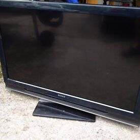 """40"""" Sony Bravia TV – SPARES OR REPAIR – FREE TO COLLECTOR"""