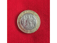 Magna Carta £2 coin, 1215 - 2015, circulated. £3 ovno. Happy to post.