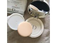 (NEW) Dior snow cushion with refill