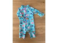 John Lewis 6-9 months toddler swimwear with UV protection