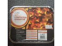instant BBQ, lumpwood , two boxes