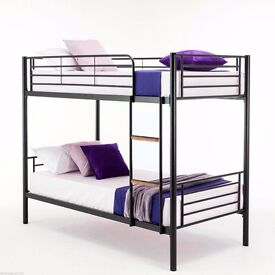 SUPERB OFFER METAL Children Bed In White Black and Silver Colors Without Any Delivery Charges