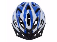 (1674) NEW, LIGHTWEIGHT CYCLING HELMET, VISOR; ADULT/YOUTH BIKE/BICYCLE; SIZE: 57-62 cm