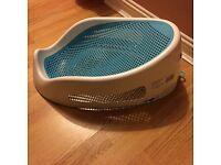 Angle care baby bath seat
