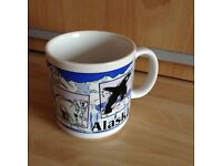 A Vintage New and Unused 1993 Mug From Alaska in the USA