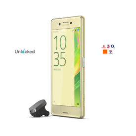 Unlocked SONY Xperia XA Android Mobile Phone - 16 GB, Lime GOLD
