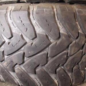 TOYO OPEN COUNTRY M/T LT33X12.5R20 10 PLY TIRES 90% TREAD