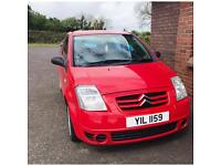 CITREON C2 GT 2004 RED 100170miles
