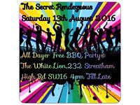 Secret Rendezvous BBQ FREE!!! All-Dayer