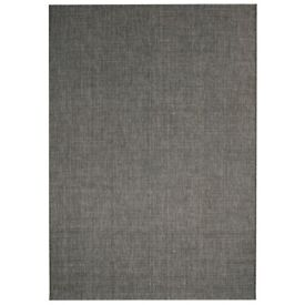 Area Rug Sisal Look Indoor/Outdoor 120x170 cm Dark Grey-133073