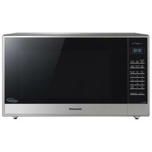 Panasonic NN-ST975S Countertop Microwave 2.2 Cu. Ft Stainless Steel