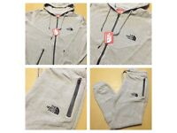 Brand New With Tags Men's North Face Tracksuits Grey £30
