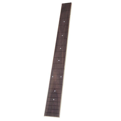 1x Acoustic Folk Guitar Inlay Fretboard for 41'' 20 Frets Luthier Tool Parts