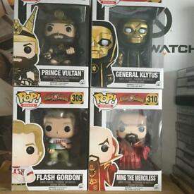 Funko pop vinyl Flash gordon set