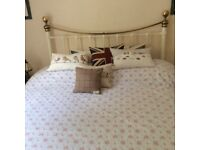 UK King size bed (5ft) with firm mattress for sale