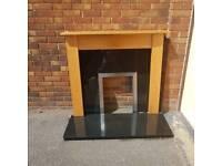 fireplace / surrounding
