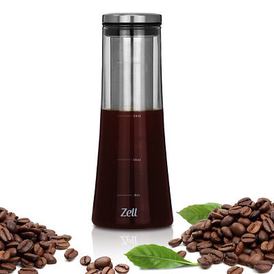 Zell Cold Brew Coffee Maker | Strong borosilicate glass cold