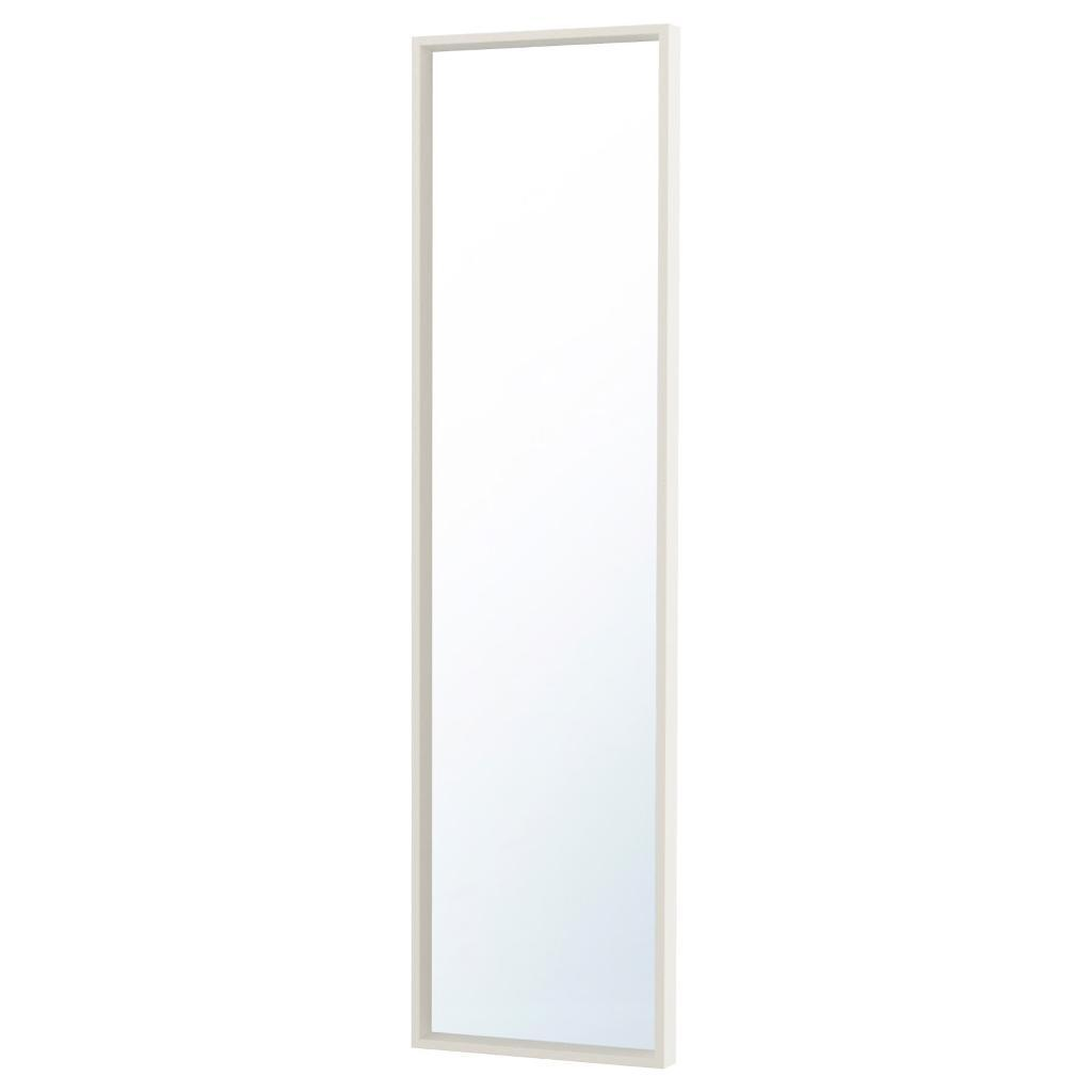White Ikea Mirror Nessedal Full Length Wall