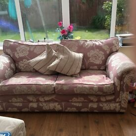Lovely two seater sofa for sale !
