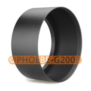 72mm Tele Metal Screw-in Lens Hood For Canon Nikon Sony Olympus Camera