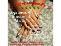 Qualified nail tech... Christmas countdown deal