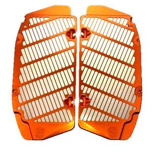 Bullet Proof Radiator Guards KTM Orange '17 ALL MODEL/'16 SXF/XCF- KTM-RG-17-ORG