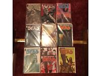 The Walking Dead comics 24 early issues in total