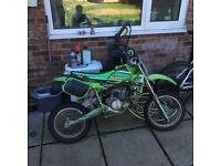 Kx 60 motor cross bike excellent condition