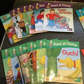 Children's Learning to Read at home books