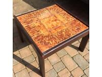 Really sturdy, attractive Coffee Table with original time top.