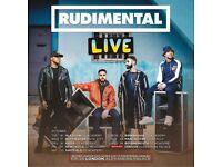 2x Rudimental standing tickets, Rock City Nottingham, Wednesday 17th October 2018