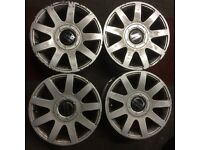 4 Audi rs4 style 15 inch wheels volkswagen golf polo caddy van seat leon altea skoda fabia a2 a3 a1