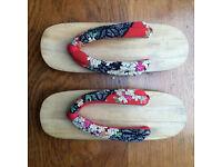 Japanese Geta Wood Block Sandals