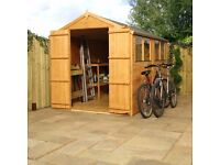 Garden Shed Apex roof 10x8 Brand new £599.99
