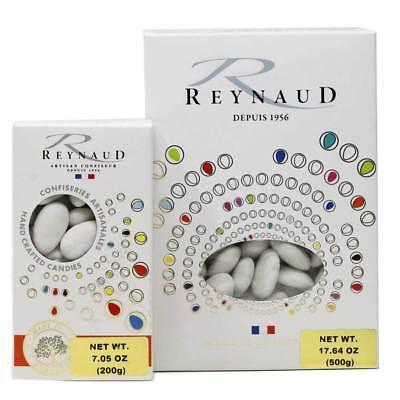 Reynaud - White Jordan Almonds Castille Specialty French Candy (Dragees)](White Jordan Almonds)