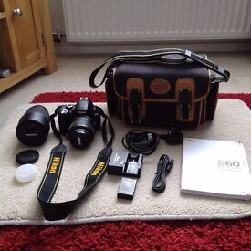 Nikon D60 Camera Excellent condition like new.