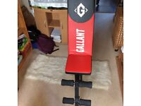 GALLANT Red & Black Gym Bench - Fitness Machine - Hardly Used