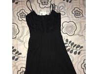 Missguided Black lace detail jumpsuit size 10