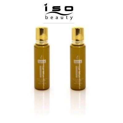 Diamond Hair Serum - LOT OF 2 - ISO Beauty Ionix Diamond Drops Moroccan Argan Oil Hair Serum