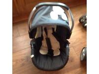 Hauck Mickey Mouse car seat and carry cot!