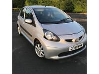 TOYOTA AYGO 1.0 VVTI 2008 58 PLATE HATCHBACK 5 DOOR PETROL £20 ROAD TAX
