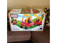 Little Tikes Cozy Coupe Boxed/As New
